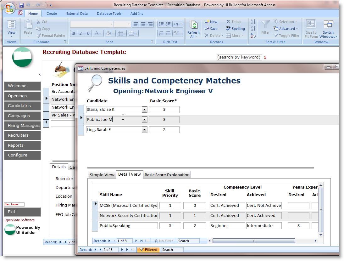 Microsoft Access Customer Database   Durun.ugrasgrup Throughout Customer Database Template Access
