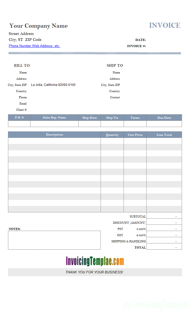 Microsoft Access Invoice Template Within Microsoft Excel Invoice Template
