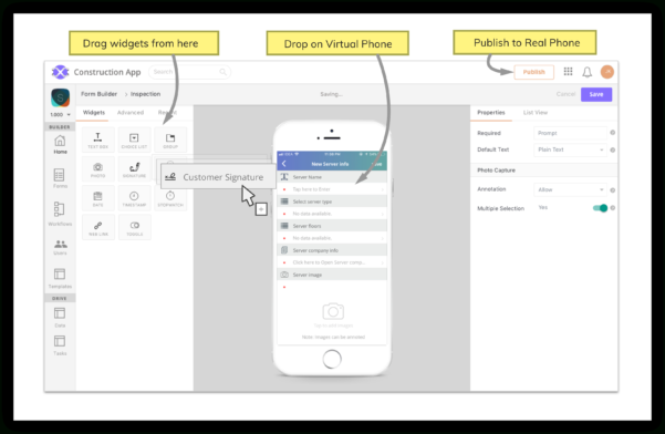Mobile App Builder | No Coding Required | Axonator Intended For Easy Spreadsheet App