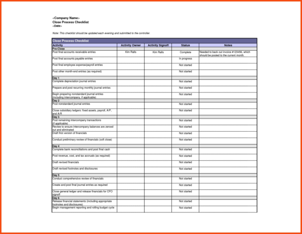 Monthly Bookkeeping Checklist Template Monthly Bookkeeping Template And Monthly Accounting Checklist Template