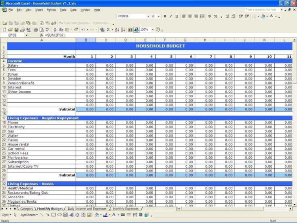 Monthly Business Expenses Spreadsheet Template And Business Expense Inside Business Expense Tracker Excel Template