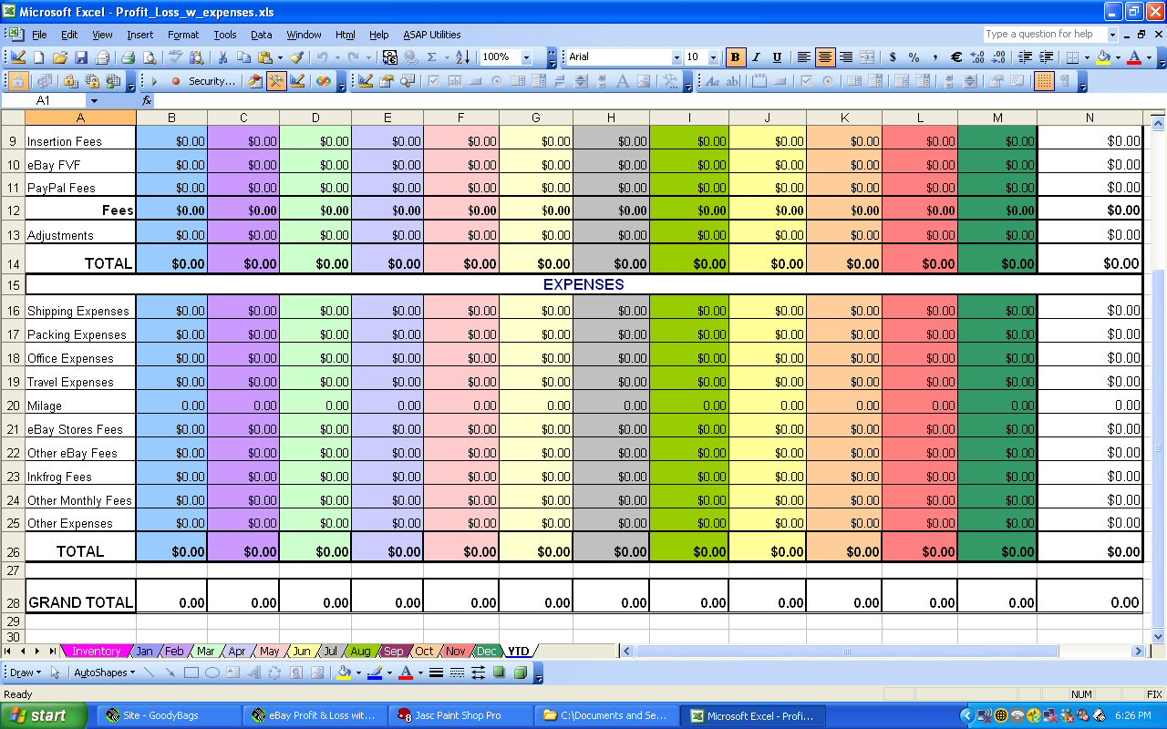 Monthly Expenses Spreadsheet Ytdexpensesheet Best Monthly Expenses To Spreadsheet For Monthly Expenses