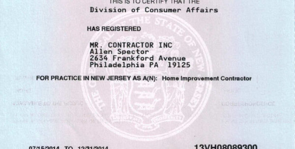 Nj Business Registration Certificate New Business Registration Inside Business Registration License