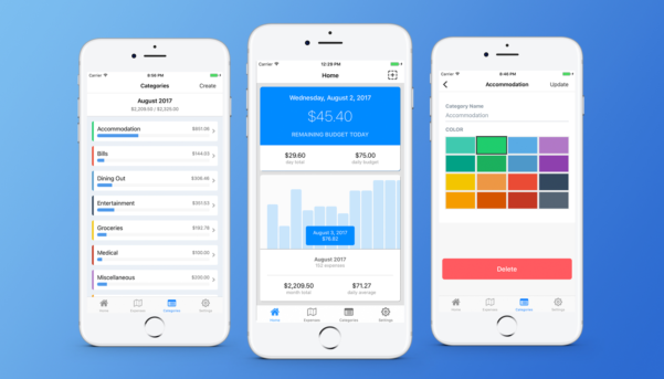 Nomad Budget: Travel Budget App & Trip Expense Tracker   Yet Another Intended For Daily Expenses Tracker