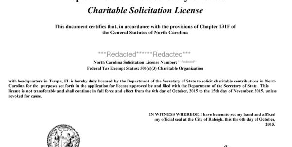 North Carolina Fundraising Registration | Harbor Compliance In Business Registration License