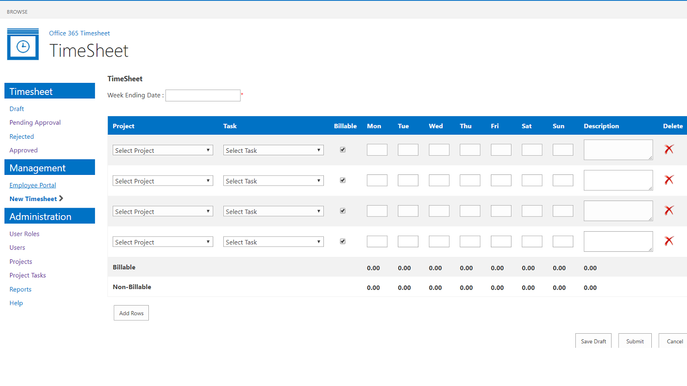 employee hour tracking template tracking spreadshee