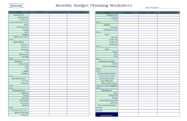 Online Budget Spreadsheet Free Save.btsa.co To Household Budget And Online Budget Calculator Spreadsheet