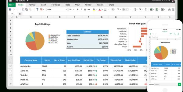 Online Spreadsheet Maker | Create Spreadsheets For Free   Zoho Sheet For Online Collaborative Spreadsheet