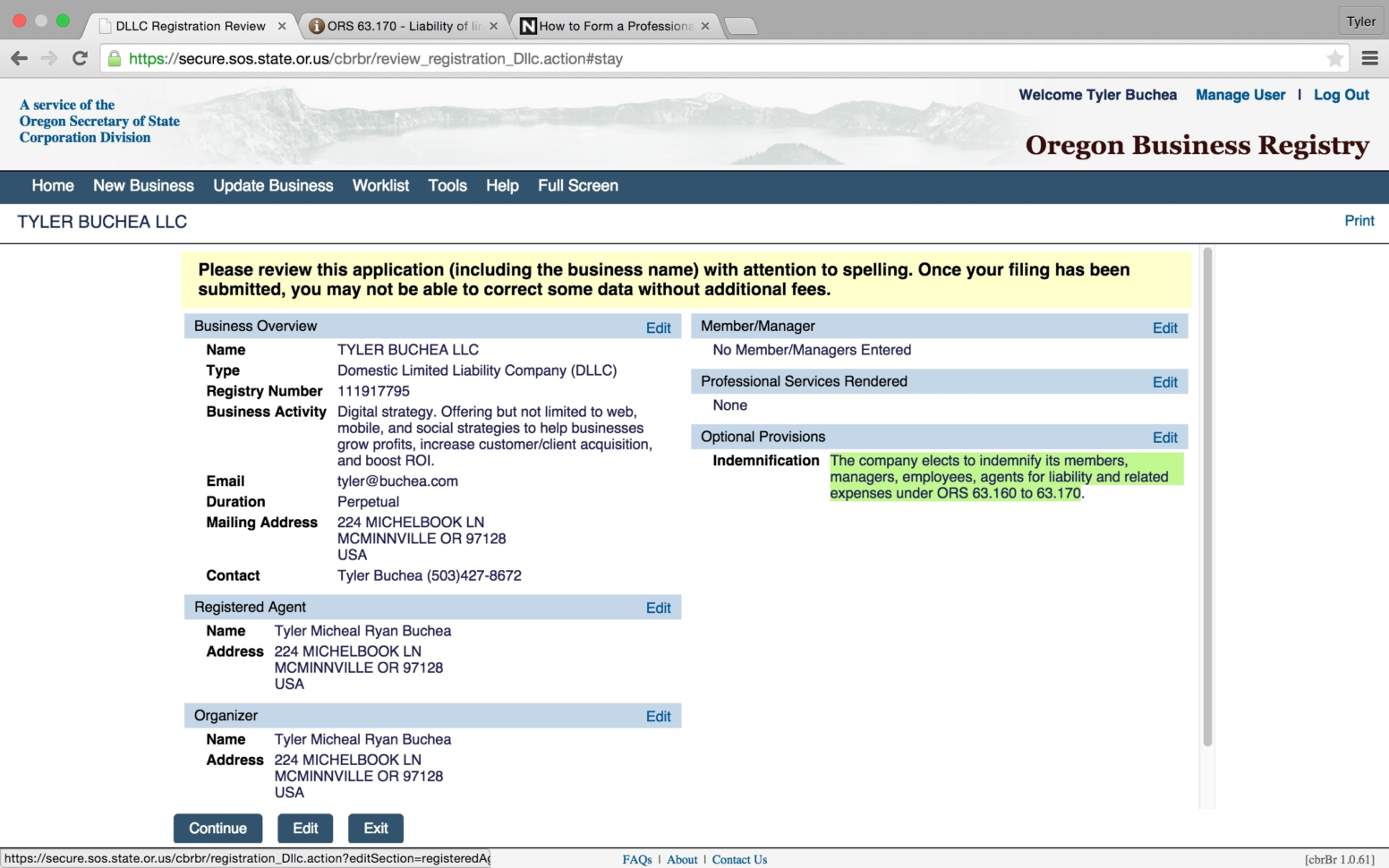 Oregon Business Registry | Gojiberrycilegi In Oregon State Business Within Oregon State Business Registry