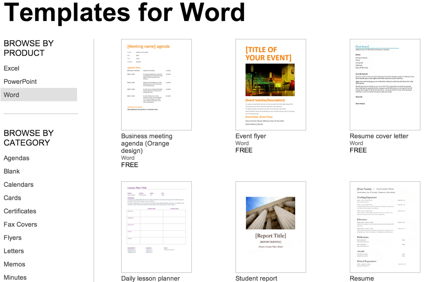 Over 250 Free Microsoft Office Templates & Documents To Microsoft Invoice Office Templates