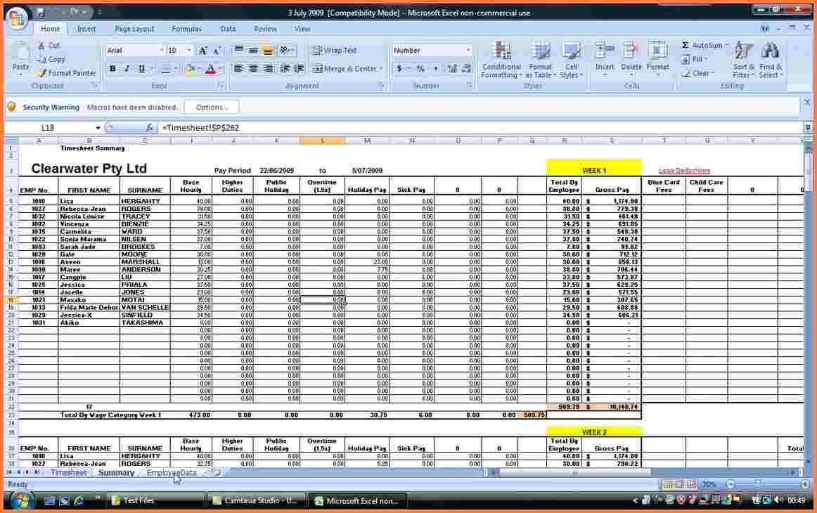Payroll Spreadsheet Template Excel As Spreadsheet App For Android with Payroll Spreadsheet Template Excel