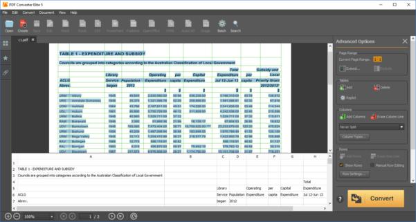 Pdf In Excel Konvertieren Und Convert Pdf To Excel Spreadsheet With Converting Pdf To Excel Spreadsheet