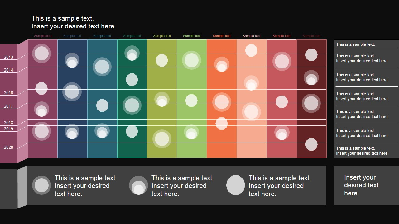 Powerpoint Timeline Matrix Layout - Slidemodel in Project Management Timeline Template Powerpoint
