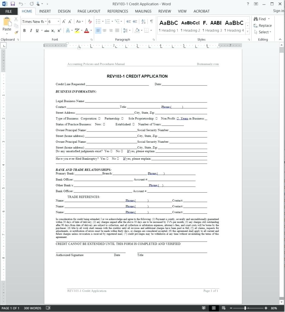 Pretty Trade Reference Form Template Images >> Business Credit In Business Credit Reference Form
