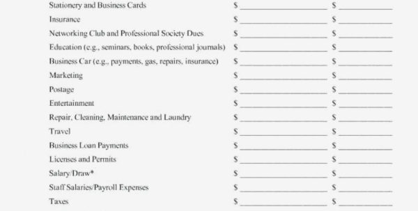 Printable Business Monthly Expense Report Expenses Spreadsheet Within Monthly Expense Spreadsheet