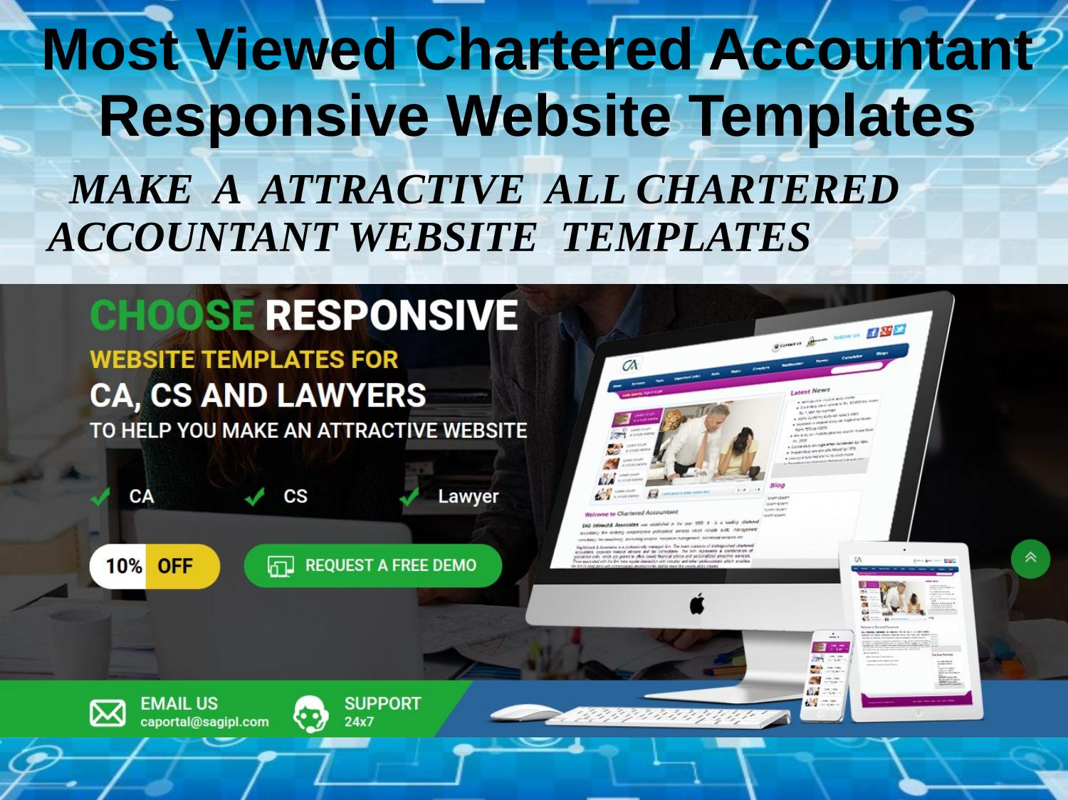 Professional Layouts For Chartered Accountant Website Template In Chartered Accountant Website Templates Free Download