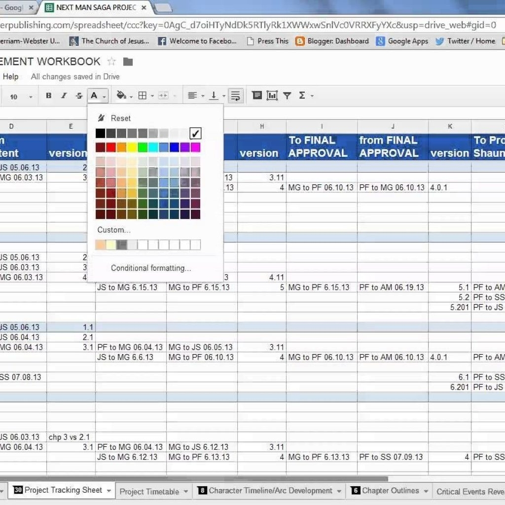 Project Management Excel Spreadsheet Example | Ondy Spreadsheet In Intended For Project Management Excel Spreadsheets