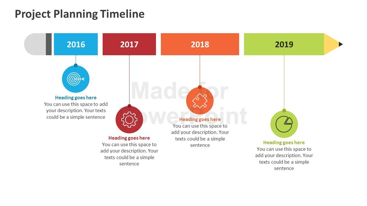 Project Planning Timeline: Editable Powerpoint Template And Project Plan Timeline Template Ppt