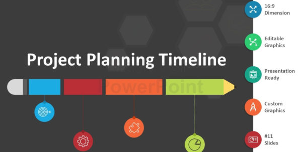 Project Planning Timeline: Editable Powerpoint Template And Project Planning Timeline Template Project Planning Timeline Template Timeline Spreadsheet