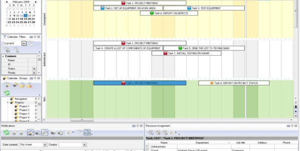 Project Task List Excel Excel Task Management Template Excel Task Intended For Time Management Template Excel