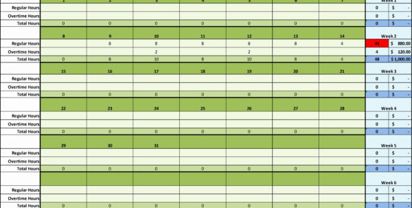 Project Time Tracking Excel Template – Spreadsheet Collections To Time Tracking Excel Template