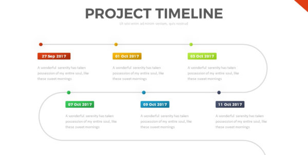 Project Timeline Powerpoint Templaterrgraph | Graphicriver And Project Timeline Templates