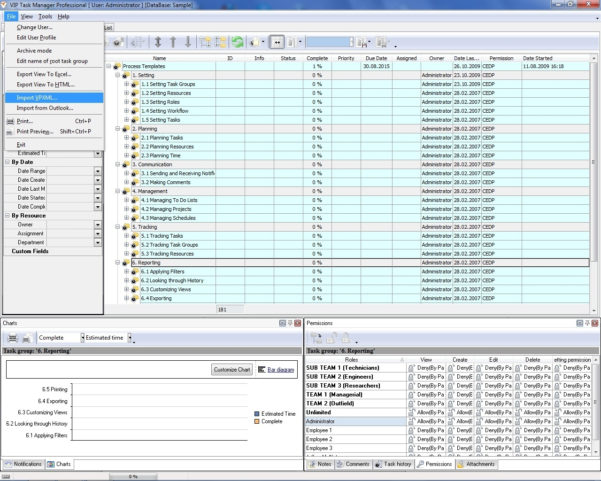 Project Tracking Application – Controlling And Monitoring Projects With Excel Task Tracker Time Management Tool