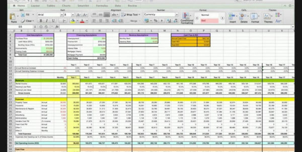 Property Analysis Spreadsheet Course   Joe Massey & Charles Roberts Within Spreadsheet Course Spreadsheet Course Spreadsheet Software