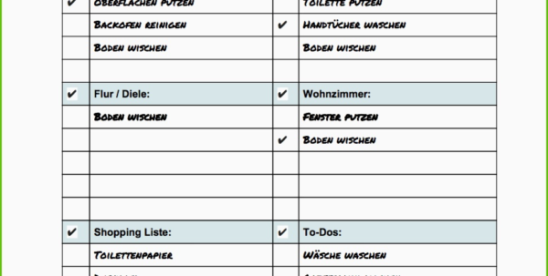 Putzplan Gastronomie Küche Vorlage Wunderbar Spreadsheets For With Spreadsheets For Dummies