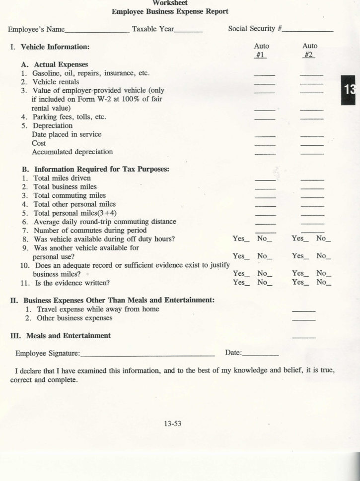 Questions Self Employed Tax Deduction Worksheet Annual 2 Inside Self Employed Business Expenses Worksheet