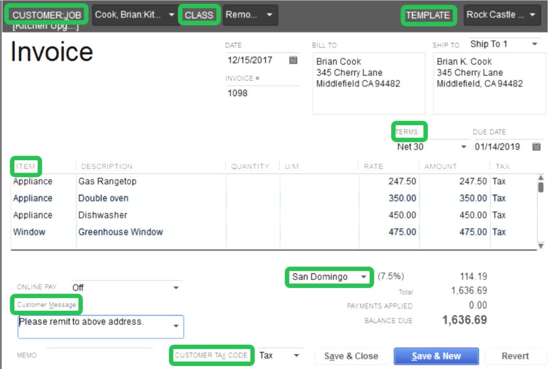 Quickbooks Invoice Template Excel 13   Colorium Laboratorium With Quickbooks Invoice Templates