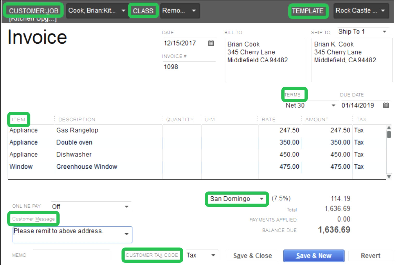 Quickbooks Invoice Template Excel 13   Colorium Laboratorium With Quickbooks Invoice Templates