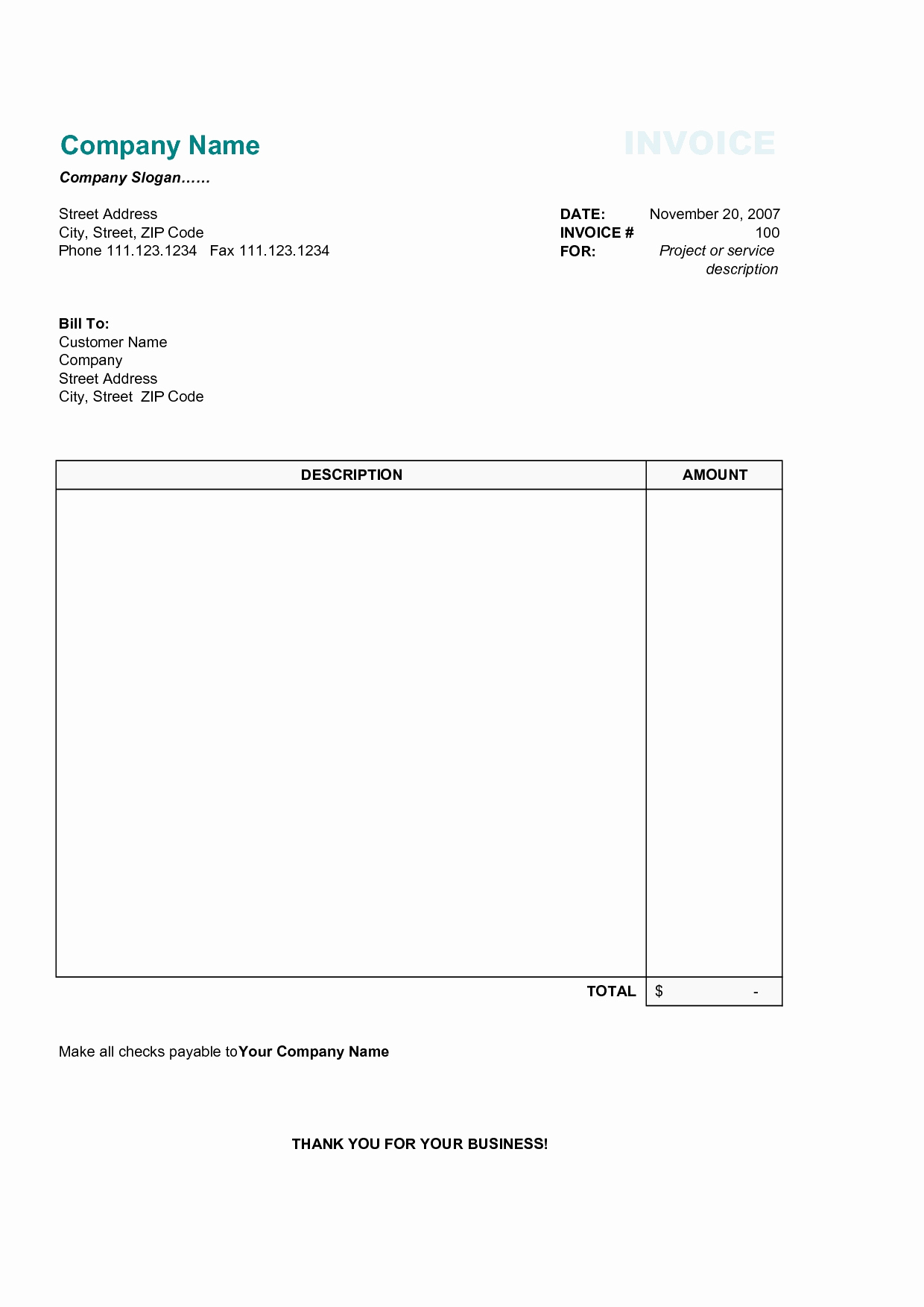 Quickbooks Templates Gallery Awesome Quickbooks Trucking Invoice With Trucking Invoice Template