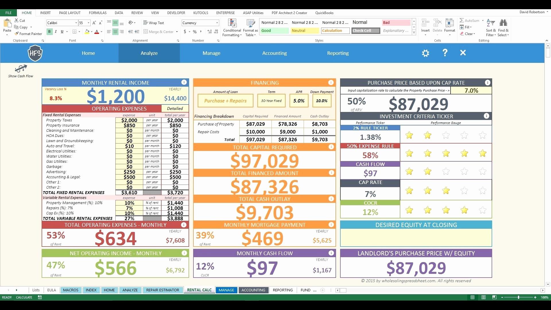 Real Estate Investment Analysis Spreadsheet Beautiful Multifamily To Real Estate Spreadsheet Analysis