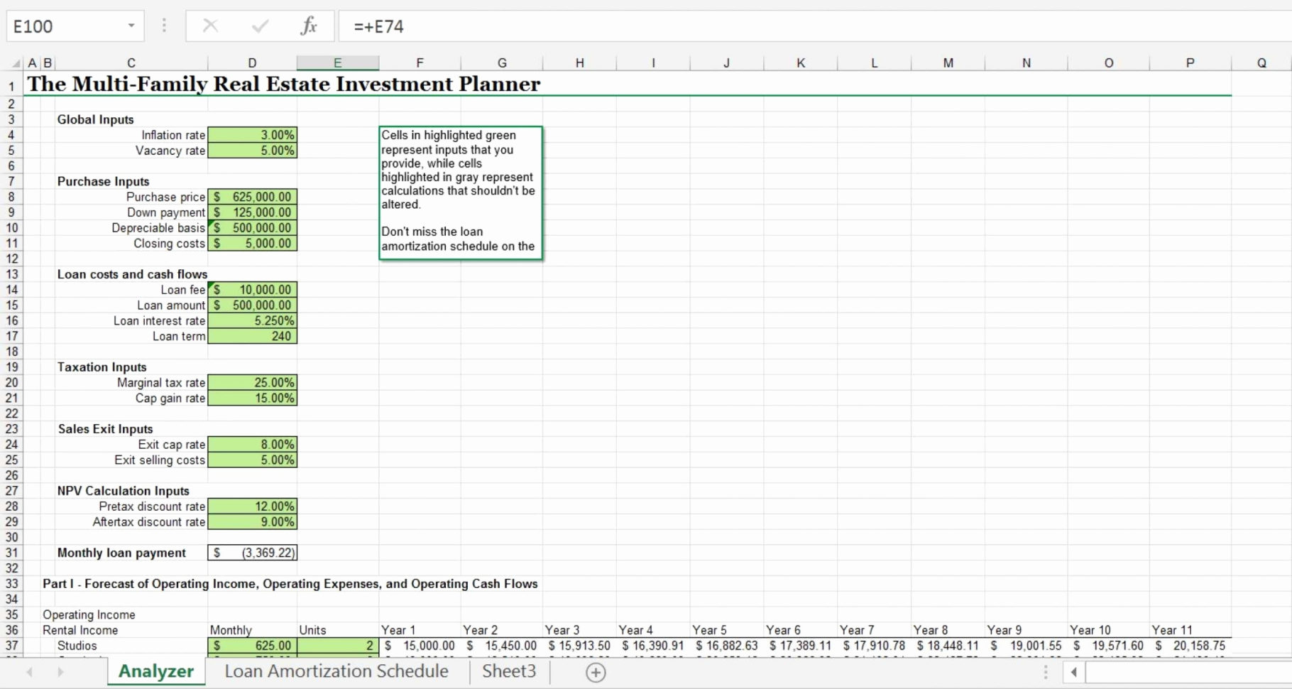Real Estate Investment Spreadsheet Fresh Social Security Calculation Throughout Real Estate Investment Calculator Spreadsheet
