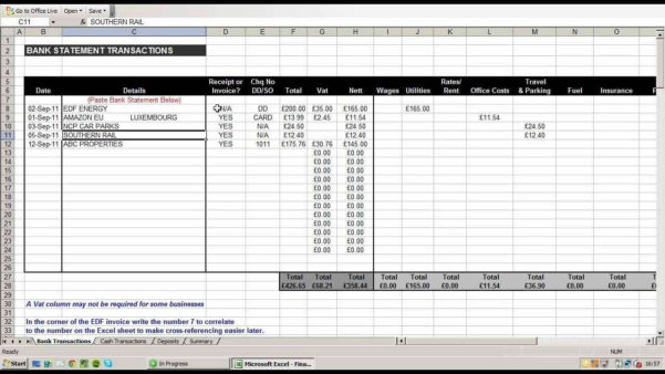 Record Keeping Template For Small Business | Visiteedith Sheet In Free Excel Spreadsheet Templates For Small Business