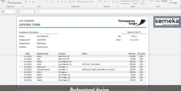 Reimbursement Form   Free Expense Template For Employees To Reimbursement Sheet Template