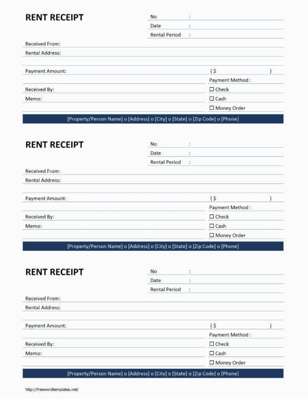 Rent Invoice Template Pdf – Hardhostfo For Rent Receipts Template Intended For Rent Invoice Template