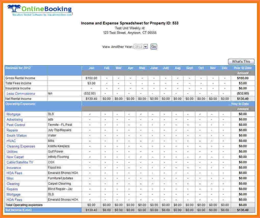 Rental Property Accounting Spreadsheet | Laobingkaisuo To Rental Inside Rental Property Accounting Spreadsheet