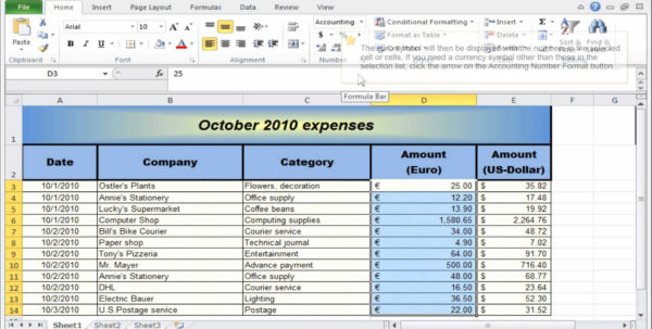 Rental Property Excel Spreadsheet   Awal Mula Inside Accounting For Rental Property Spreadsheet