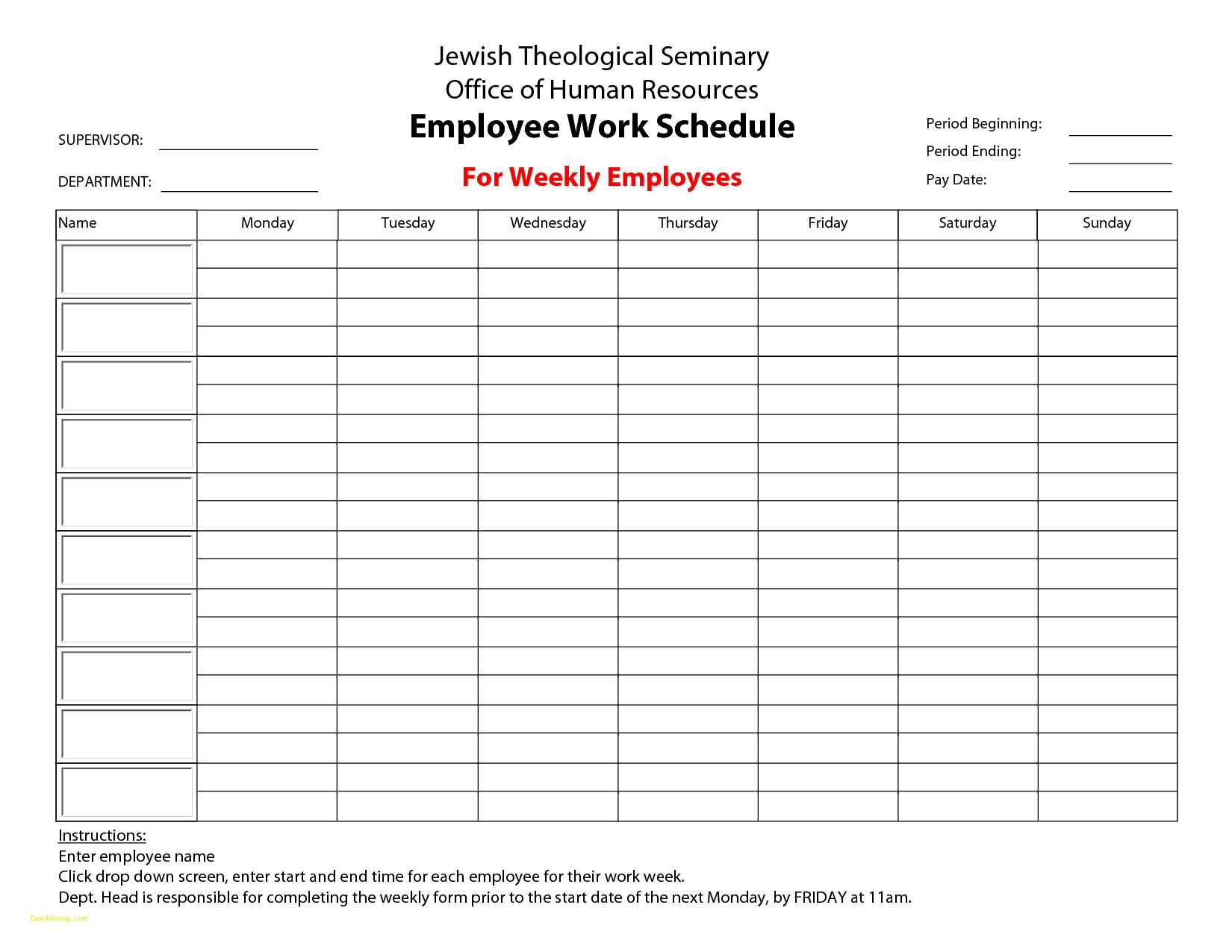 Resource Scheduling Spreadsheet   Awal Mula Inside Employee Schedule Spreadsheet