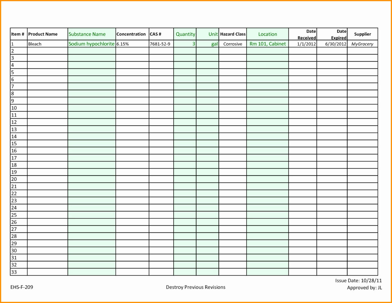 Restaurant Kitchen Inventory Template Fresh Restaurant Inventory Intended For Kitchen Inventory Spreadsheet