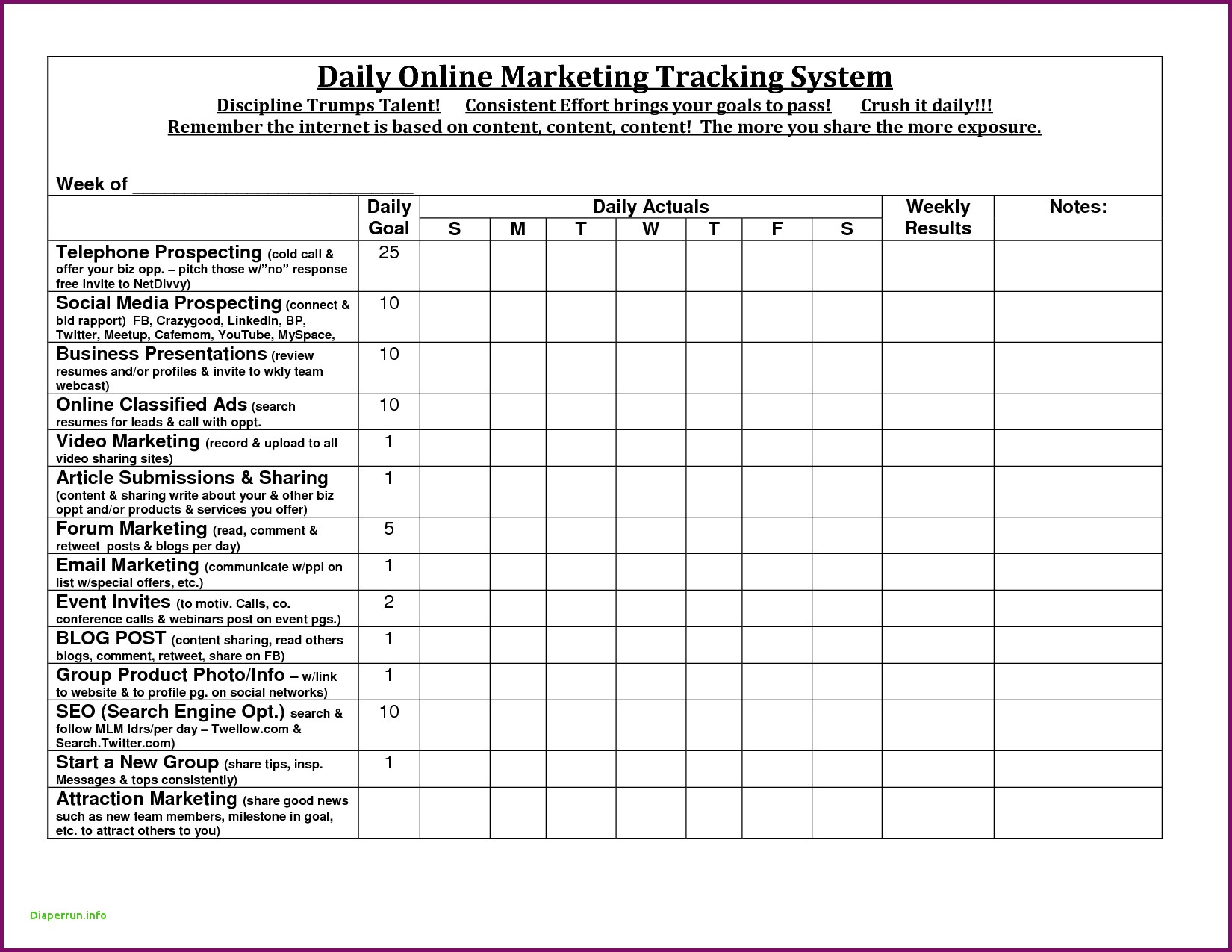 Sales Call Report Template Best Of Sales Activity Tracker Daily Intended For Sales Call Tracker Template