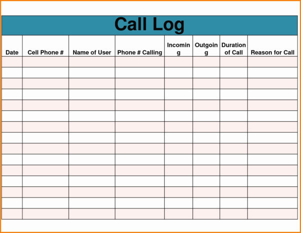 Sales Calls Tracking Template Unique Sales Calls Tracking Template To Sales Call Tracker Template