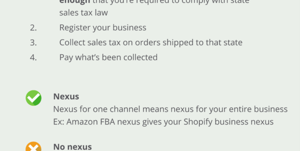 Sales Tax Guide For Amazon Fba Sellers With Ebay And Amazon Sales Tracking Spreadsheet