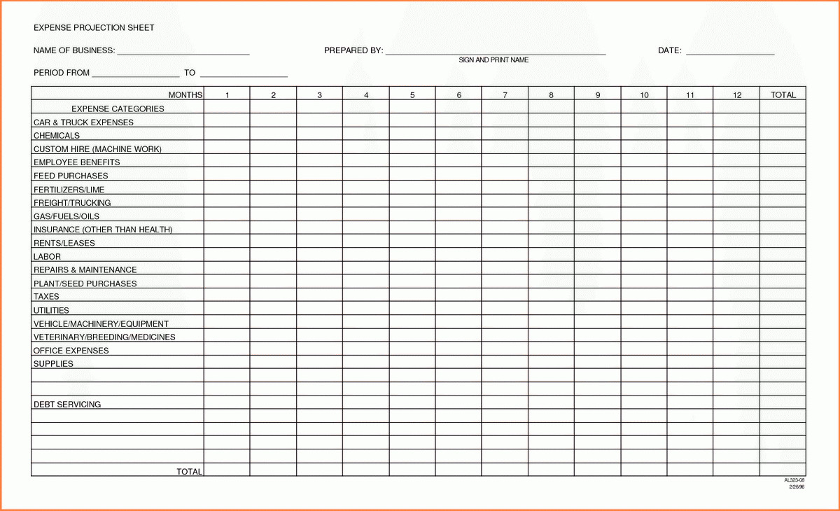 Sample Expense Sheet For Small Business Inventory Spreadsheet For Expense Spreadsheet For Small Business