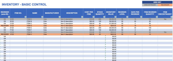 Sample Inventory Tracking Spreadsheet On Google Spreadsheet With Inventory Tracking Sheet Templates