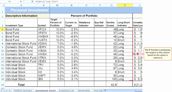 Sample Portfolio Investment New Sample Stock Portfolio Spreadsheet Inside Asset Allocation Spreadsheet Template