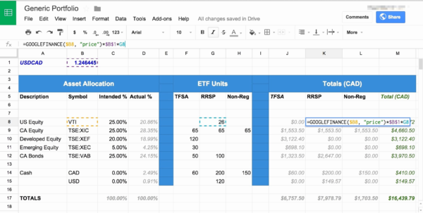 Sample Portfolio Investment Save Sample Stock Portfolio Spreadsheet In Asset Allocation Spreadsheet Template