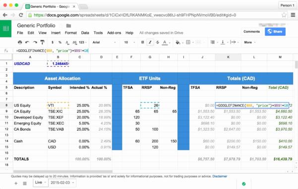 Sample Portfolio Investment Save Sample Stock Portfolio Spreadsheet In Asset Allocation Spreadsheet Template
